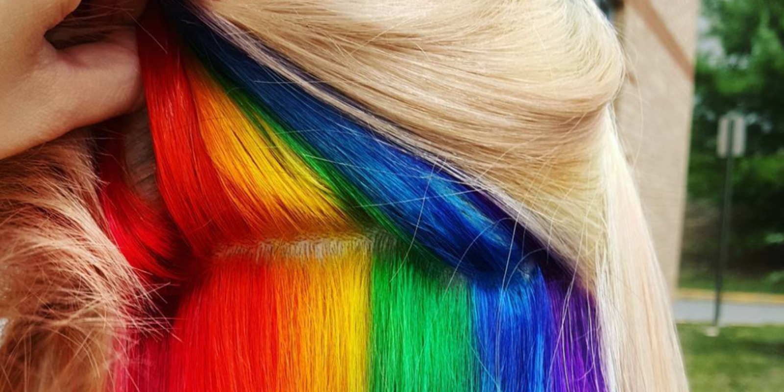 Hidden Rainbow Hair Trend - Rainbow Dye Job Pictures