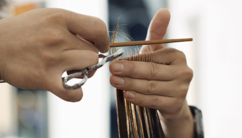 How To Cut Bangs At Home The Best Way To Trim Bangs