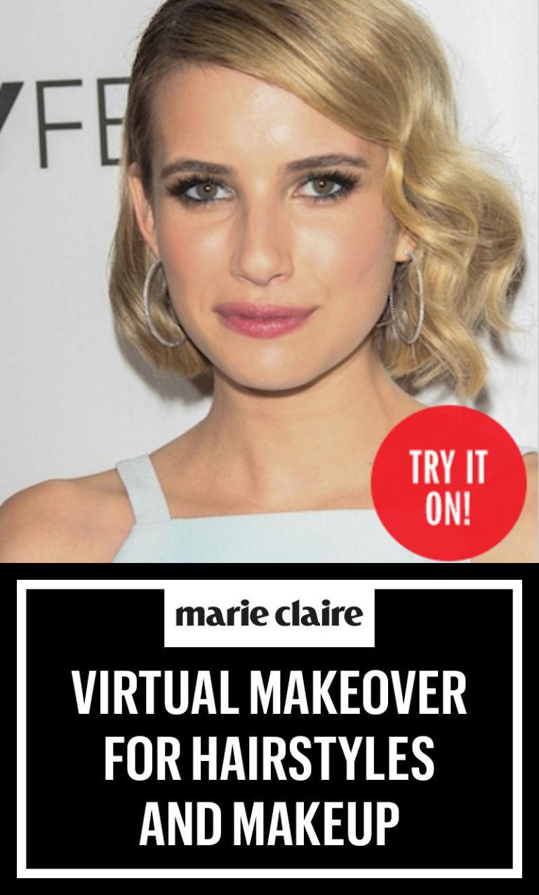 Sensational Best Virtual Makeover Ever Virtual Hairstyles Amp Makeup Games Short Hairstyles For Black Women Fulllsitofus