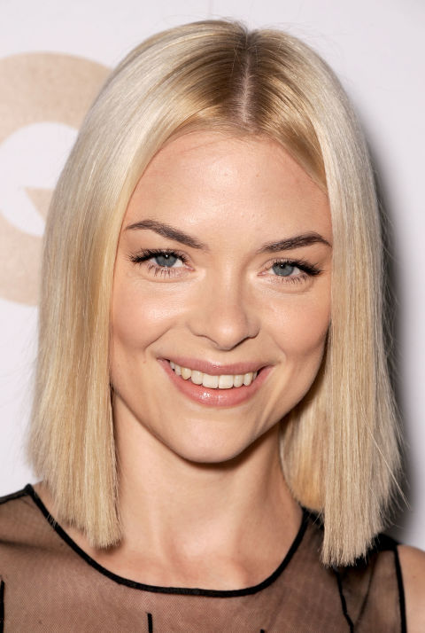 Sometimes the best bobs are the most simple—blunt and one length all the way around.