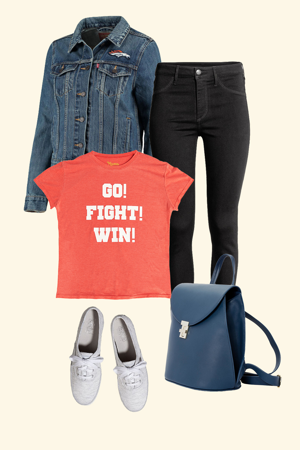 3 Game-Day Outfits That Won't Have You Sporting Rhinestones