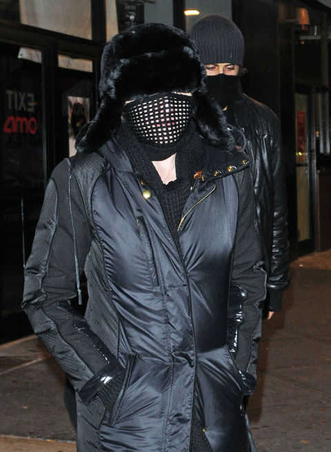 Celebrity disguises in public