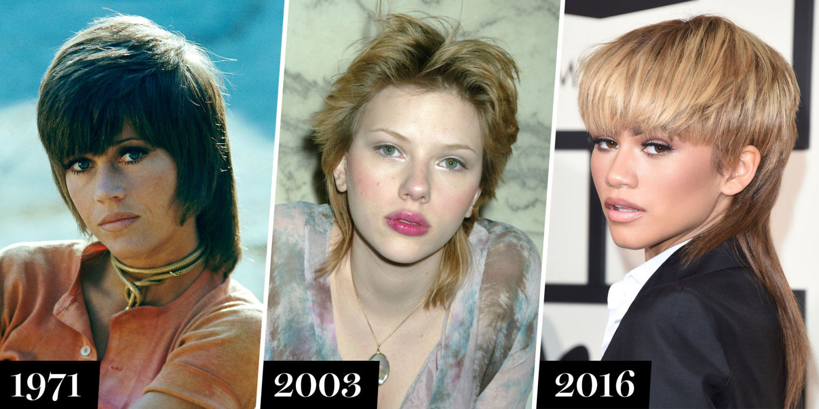 Celebrities With Mullets History