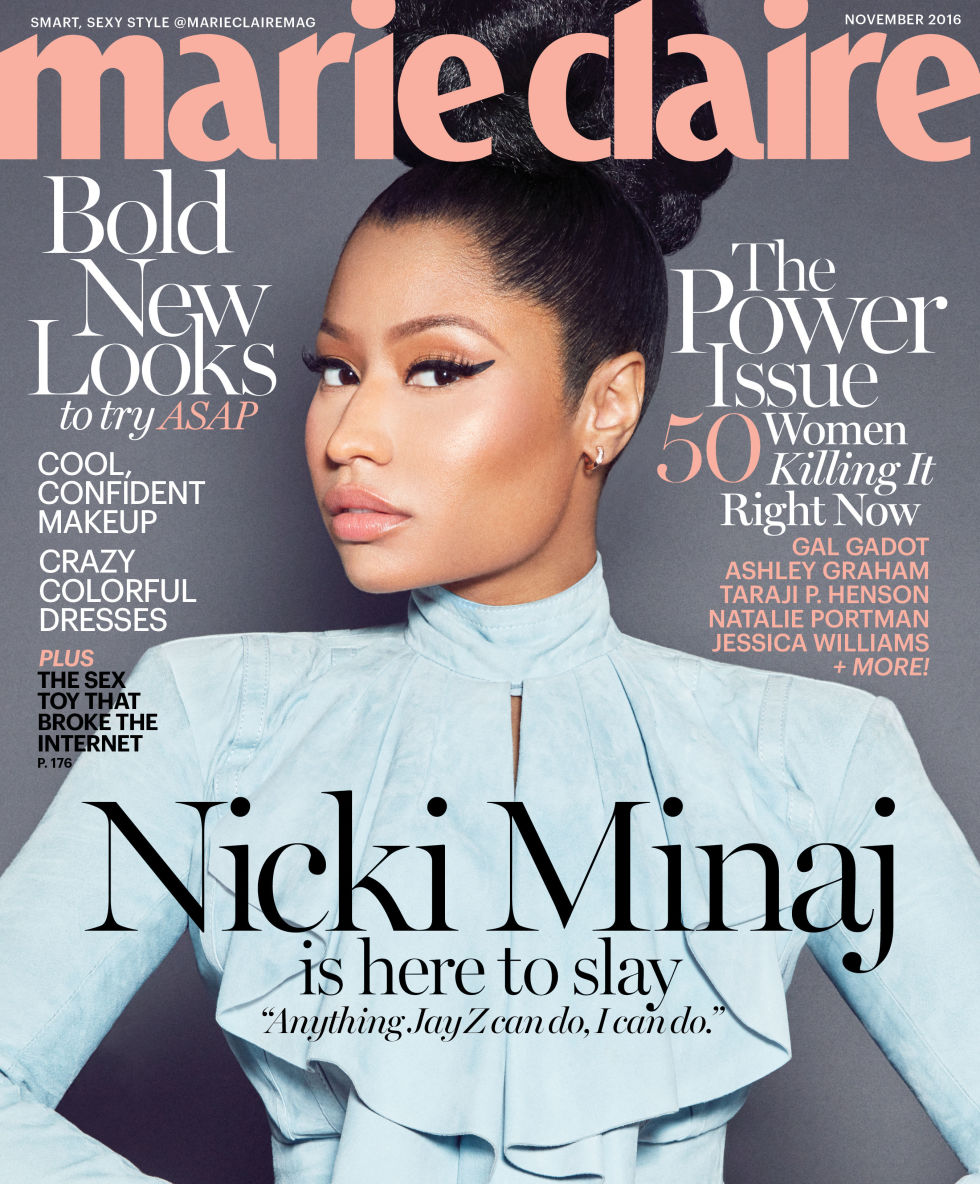 MARIE CLAIRE NOVEMBER 2016