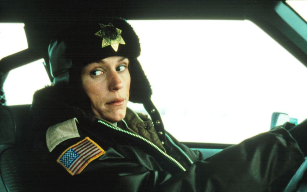 Thishilarious black comedy directedby the Coen brothers launched the TV show of the same name in 2014. And for good reason—the original film was full of darklyironic twists and turns, anchored by a stellar performance by Frances McDormand (she won the Oscar for Best Actressthat year), who plays a pregnant (!)police chief investigating a kidnappingandransom deal gone off the rails. BUY IT: amazon.com.