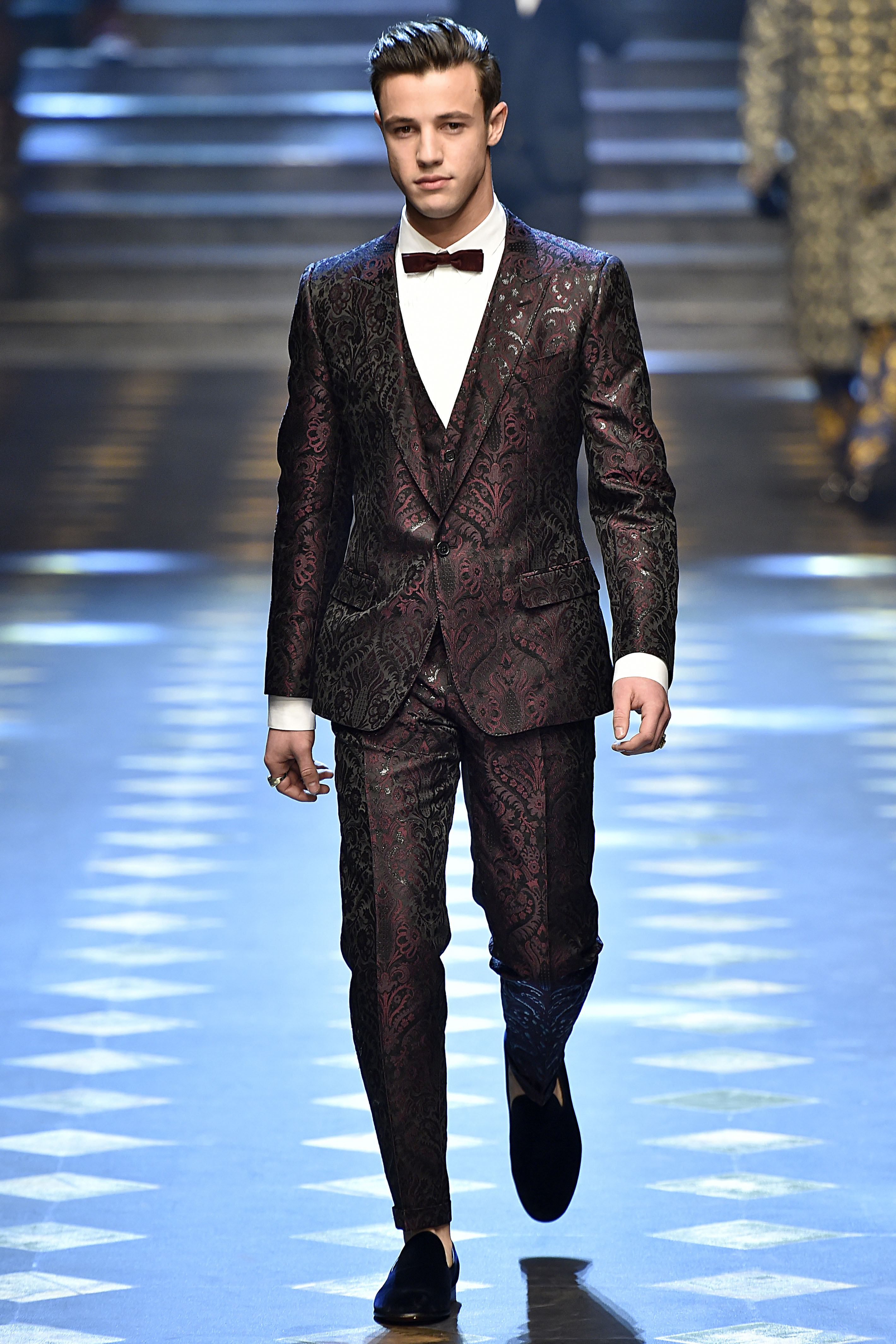All The Looks From Dolce Amp Gabbana Fall 2017 Mens Show