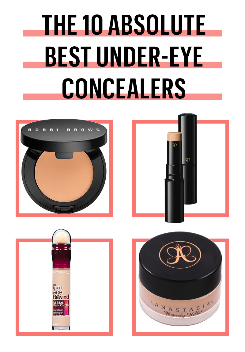 12 Best Under Eye Concealers of 2017 to Cover Dark Under Eye Circles