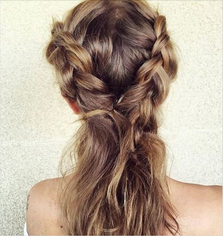 Fabulous Hairstyles You Can Do With One Hair Tie Easy Hair Ideas Spring 2015 Short Hairstyles For Black Women Fulllsitofus