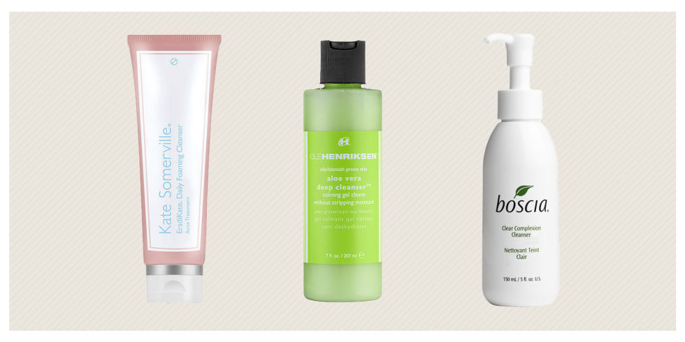 7 Best Face Washes for Acne - Gentle Facial Cleansers for Oily Skin