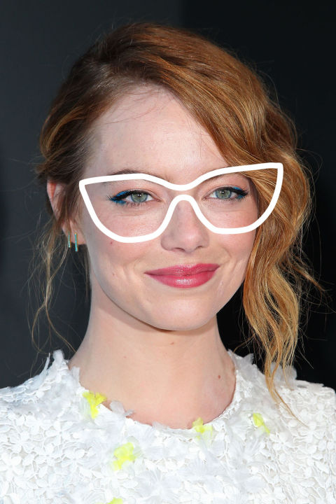 the emma stone aka round face shape