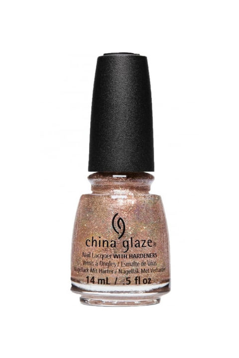 A shimmery champagne color that you won't be able to stop looking at—and trust that you won't notice any chips for several days. China Glaze Spring Fling Nail Polish in 'Beach It Up,' $8;ulta.com.