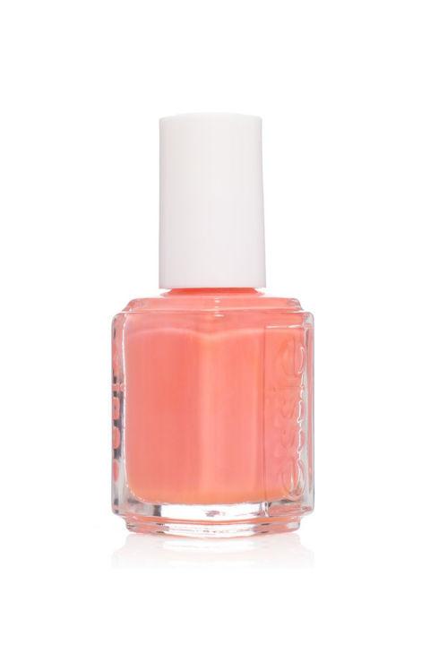 Tão perto como fica a nu no verão: um beachy, peachy sombra de coral que vai fazer você anseiam pela primavera quando está em chamas quente para fora. & Nbsp; Essie Nail Polish em 'Peach Side Babe,' $ 9; & nbsp; essie.com.