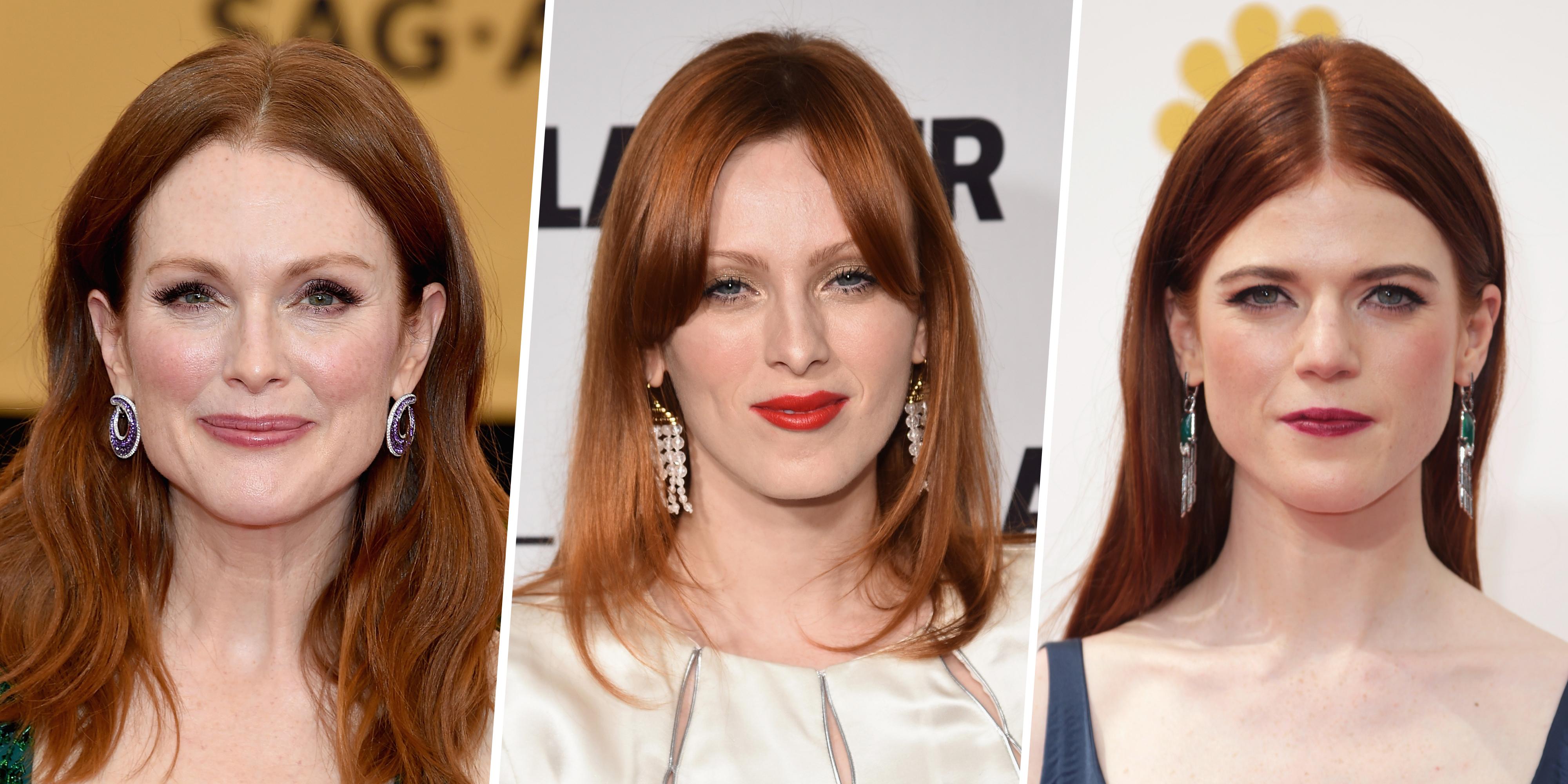 She hot! hair highlights redhead