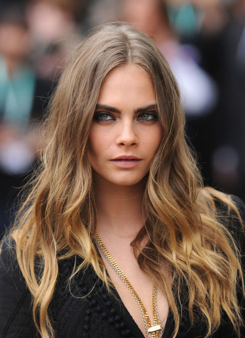 Balayage Hairstyle 38 super cute ways to curl your bob popular haircuts for women 2017 lob hairstylesbalayage Cara Delevingne