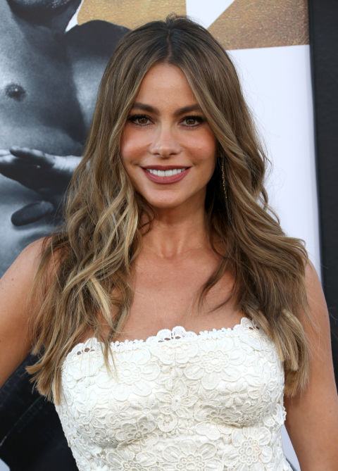 Long Hairstyles 45 messy hairstyle ideas for girls to have a cool carefree attitude Sofia Vergaras Ashy Tones