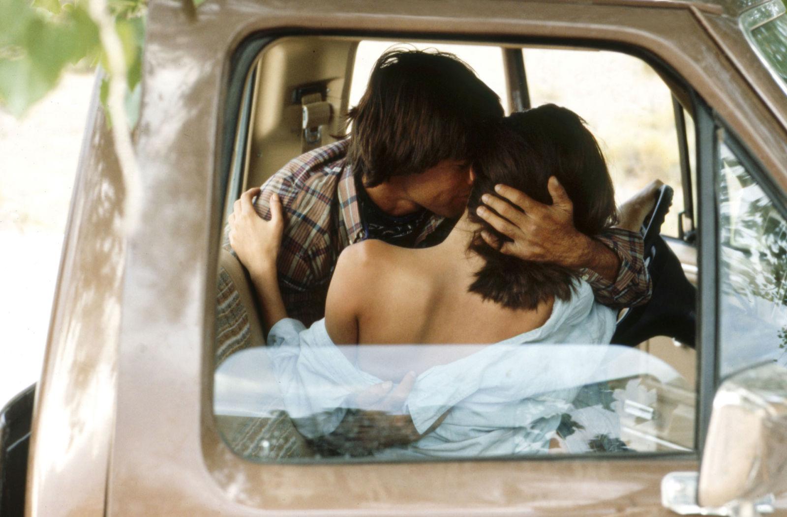 Секс в машине на рычаге 1 фотография