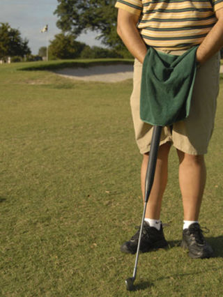 "<strong><a href=""http://www.uroclub.org/"" target=""_blank"">UROCLUB</a></strong>, $24.95.<br /><br /> For the golfer and flagrant urinator in your life, there's the UroClub, a golf club that's actually a pee receptacle. And as you'll note in the photo, the UroClub comes with a ""privacy shield"" (loincloth) to protect whatever dignity one has left."