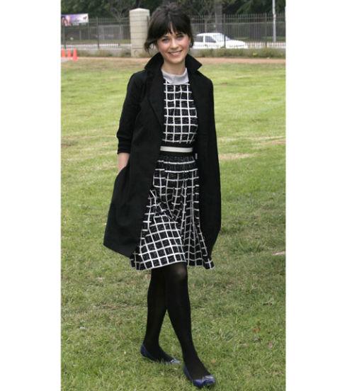 zooey deschanel style new girl
