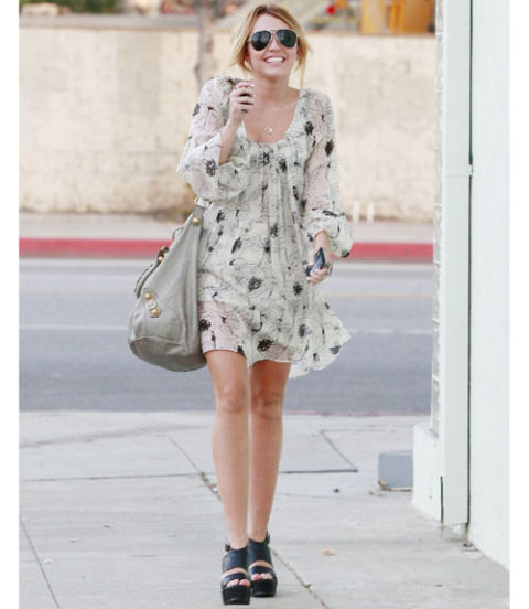 Miley cyrus fashion style 2011