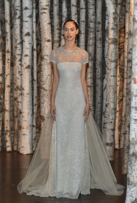 Naeem Kahn Spring 2015 bridal collection