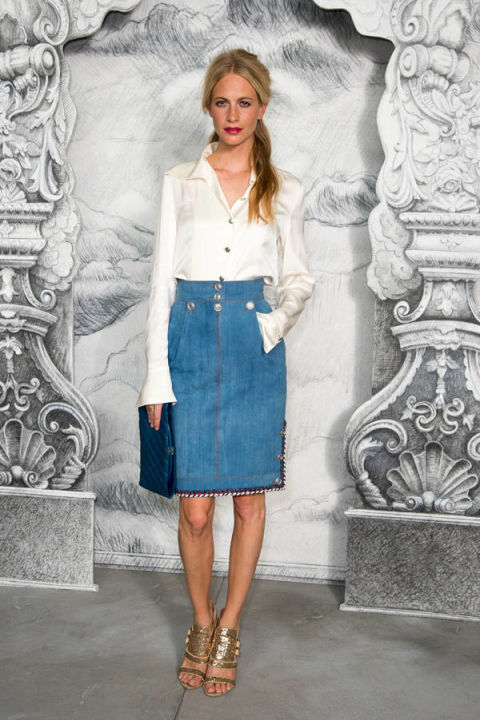 Denim Skirts Spring 2014 - Denim Skirt Street Style