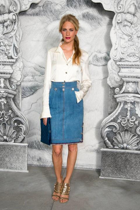 Denim Skirts Spring 2014 - Denim Skirt Street Style