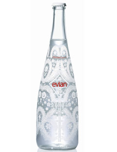 Evian water christian lacroix designed bottle - Evian christian lacroix ...