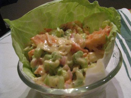 Summer Lobster Salad Recipe - Summer Seafood Recipe