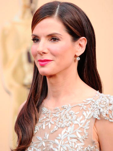 Red Carpet Hairstyles golden globes 2017 the best red carpet hairstyles Sandra Bullock Oscar Hair