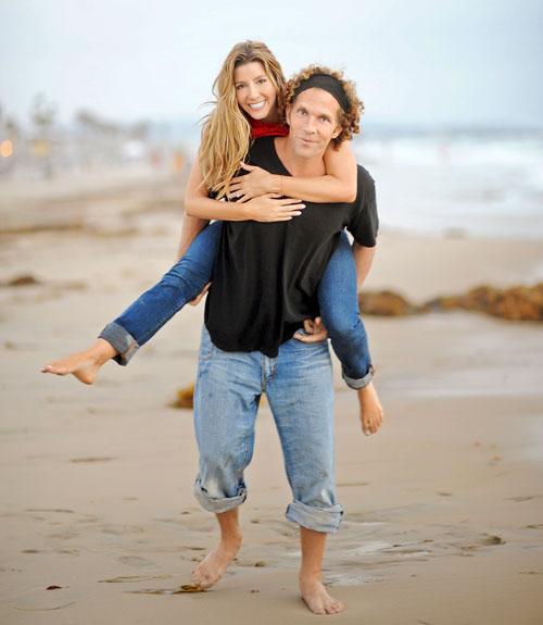 Sara Blakely with cool, Husband Jesse Itzler