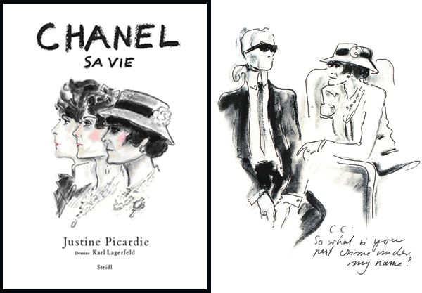Chanel Book Cover Printable : Justine picardie interview on coco chanel biography