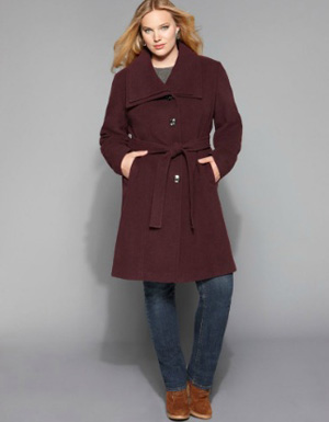 Best Full-Figured Coats - Where to Buy Plus-Size Coats