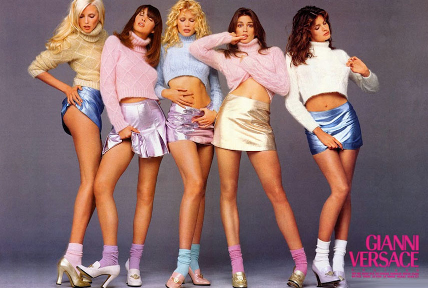 The Supers (1990) - Best Fashion Moments Of The 90s - 90s Fashion Trends