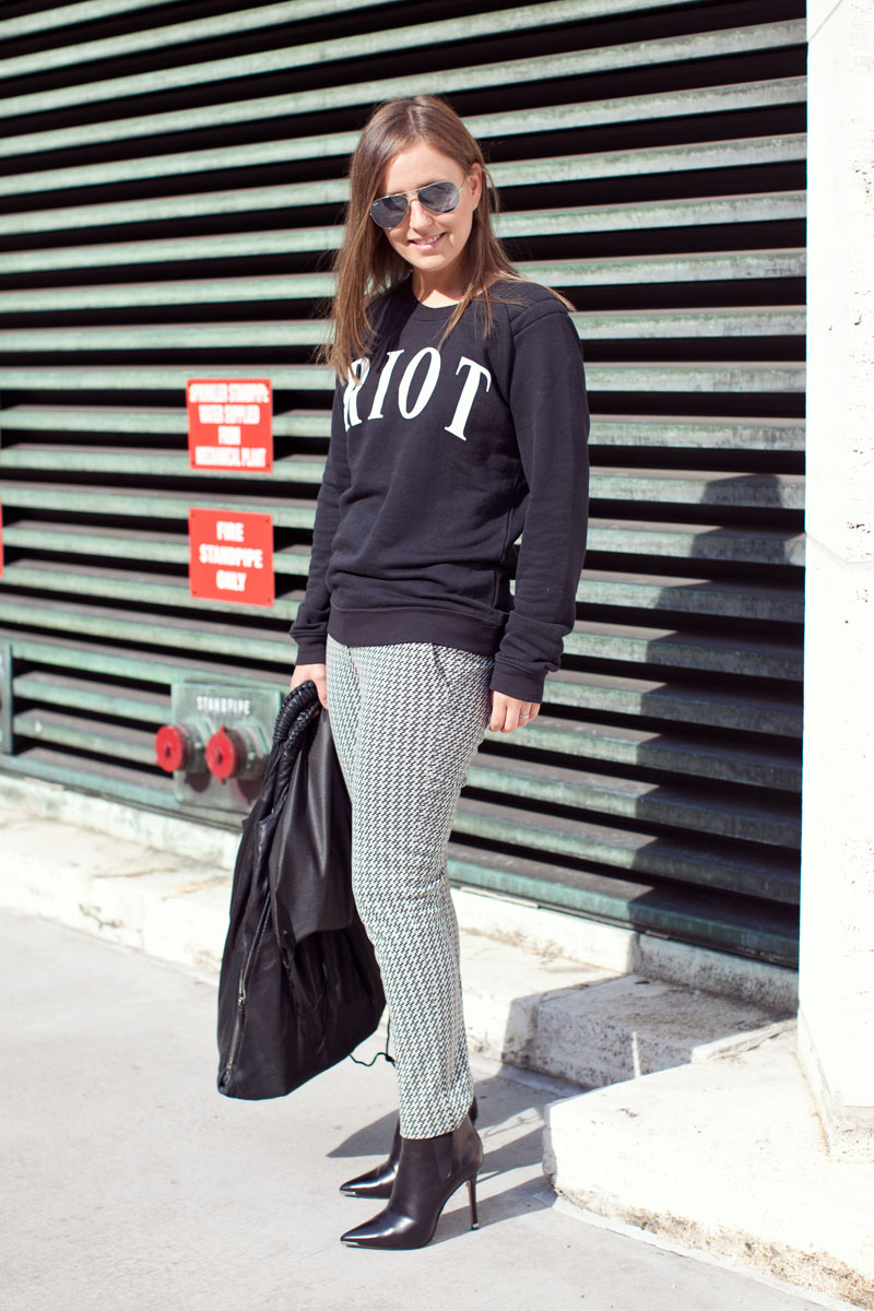 Marie Claire Editor Street Style Spring 2014 What Editors Wear To Fashion Week