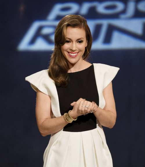 Alyssa Milano Gives Us The Scoop On Project Runway All Stars