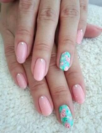 30 best spring floral nail art ideas  flower nail art