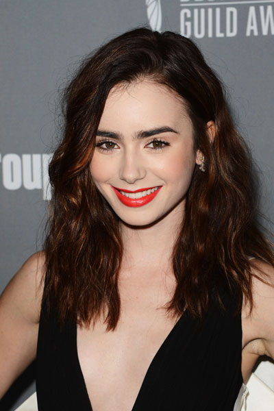 lily collins site