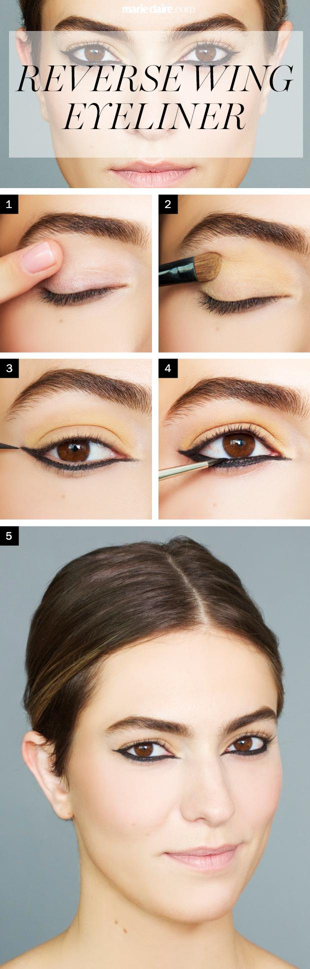 Under Eye Black Eyeliner Tutorial - How To Do a Reverse Undereye ...