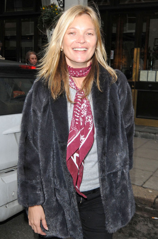 Tim Rockins Interview Kate Moss Scarf Style