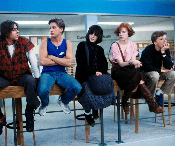 John Hughes' catalogue of '80s films (with Molly Ringwald often playing the starring role) are all classics, though this story about unexpected friendship that blossoms in the middle of detention hall takes the cake for its iconic scenes, from coordinated dances to beauty makeovers.  BUY IT:amazon.com.