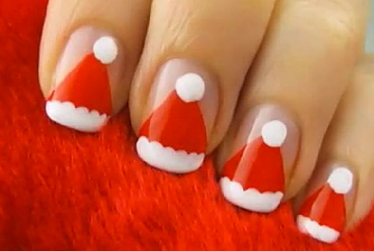 Holiday Nail Art Beauty Tips - Ho Ho Holiday Nail Art These Are The 25 Classiest Designs Around
