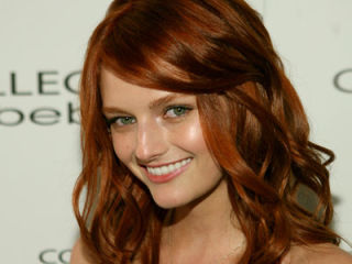best copper red hair color pictures of celebrities with