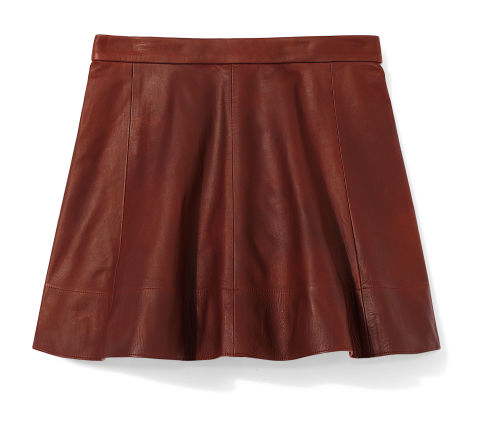 fall pleated leather skirts leather skirts