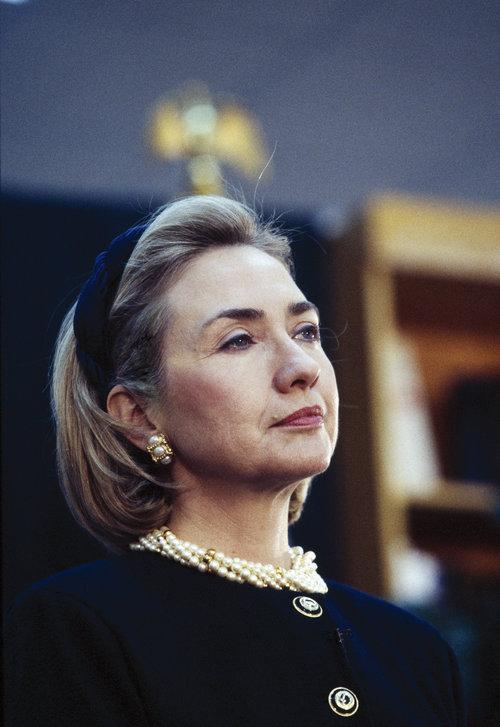 Hillary Clinton's Headbands - Hillary Clinton in the 1990s ...