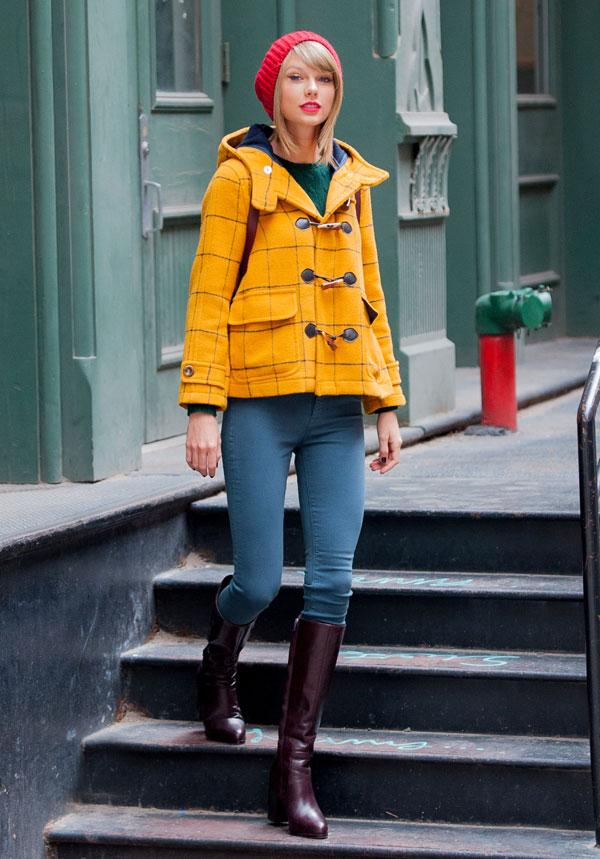 Taylor Swift Street Style Taylor Swift New York Fashion