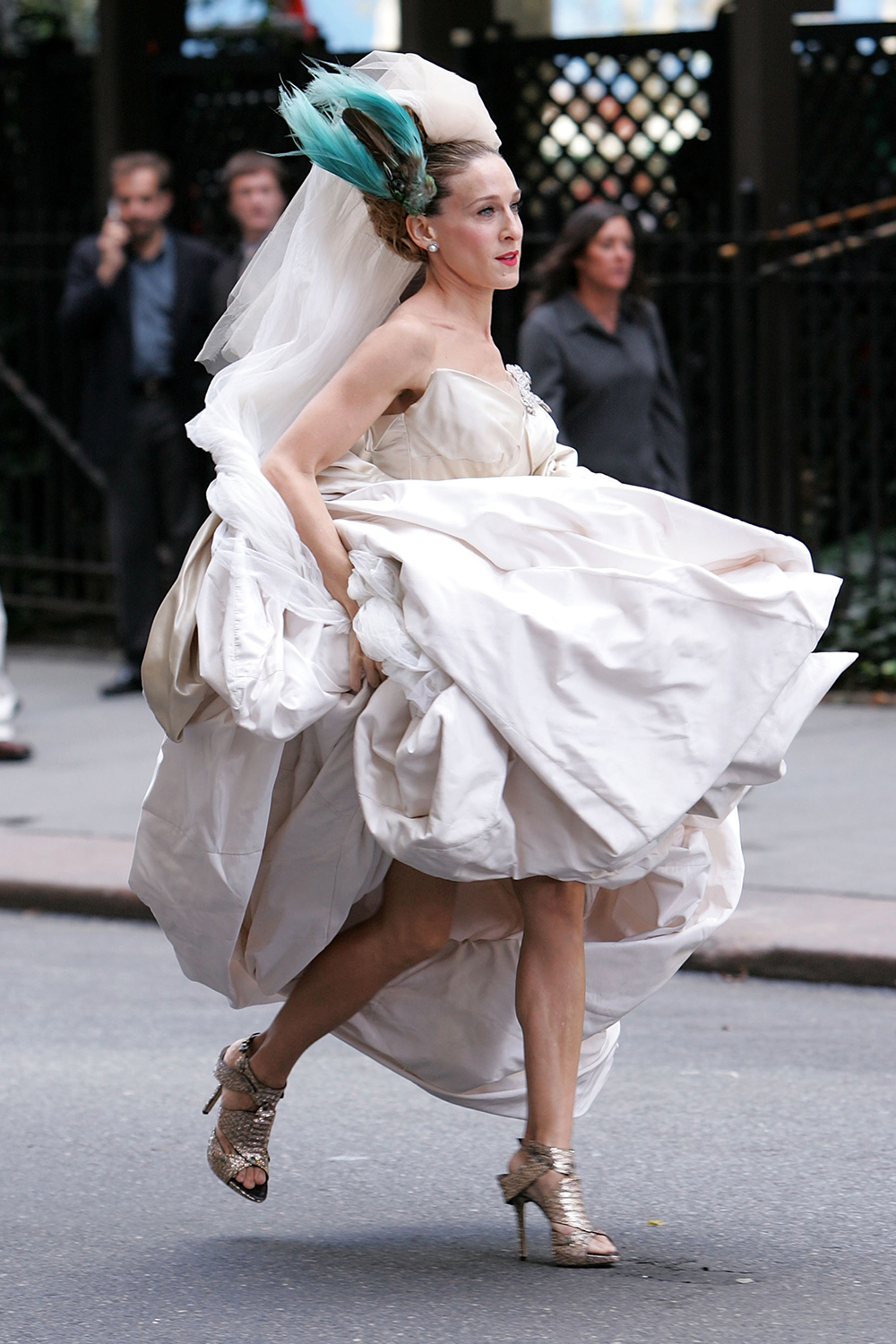 carrie bradshaw wedding shoes carrie bradshaw s shoes sjp best shoes 2468