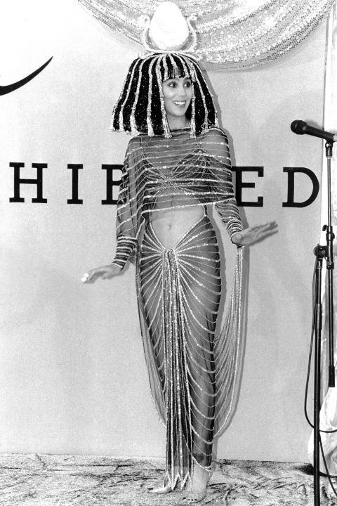 Cher as Cleopatra.