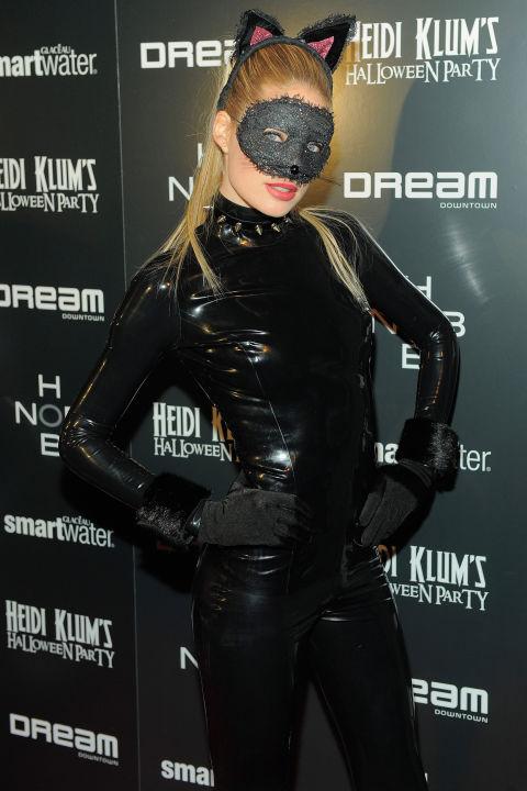 Doutzen Kroes as Catwoman.
