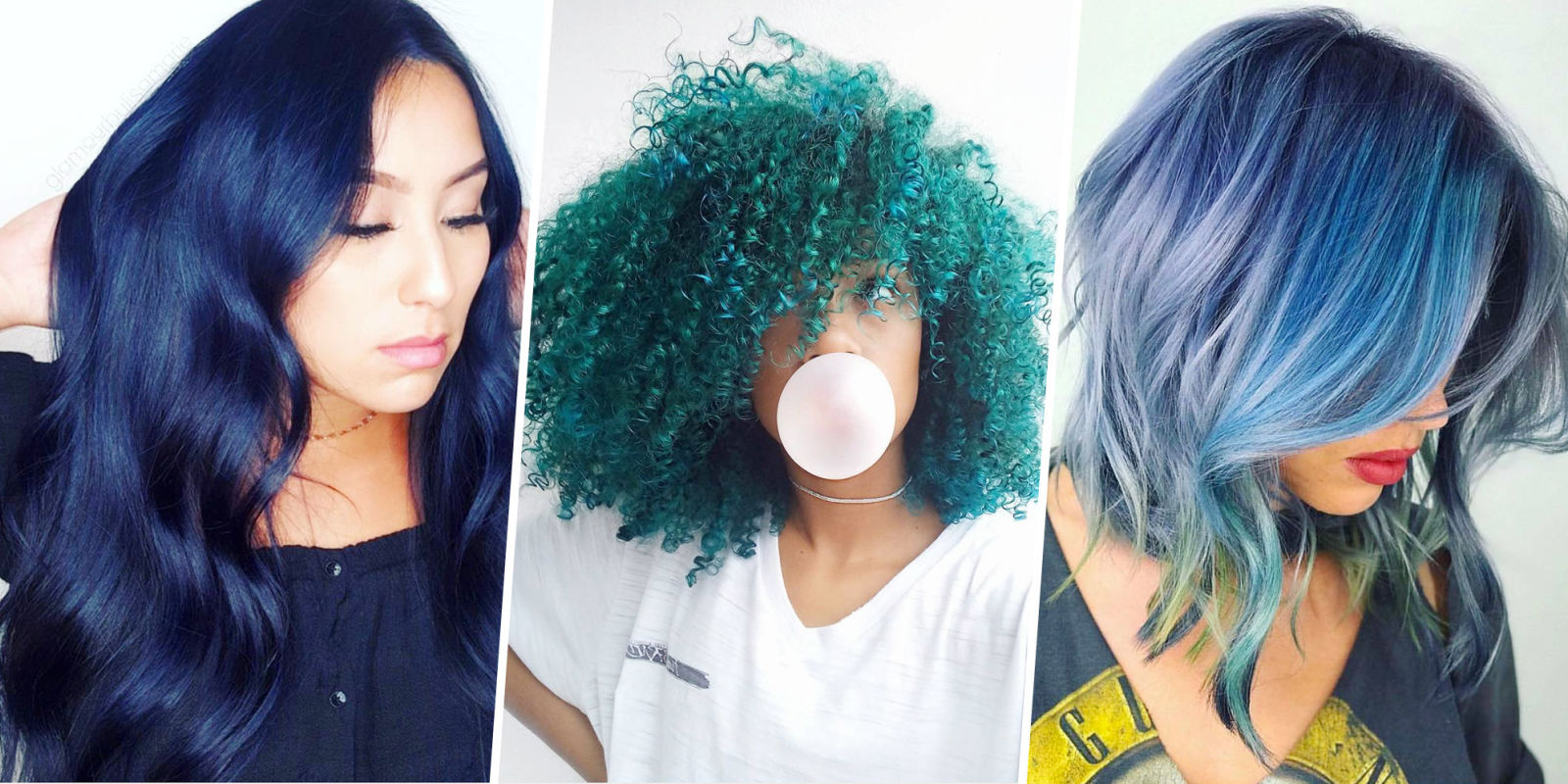 blue hair dye styles 15 best blue hairstyle ideas pretty and cool blue hair 4898