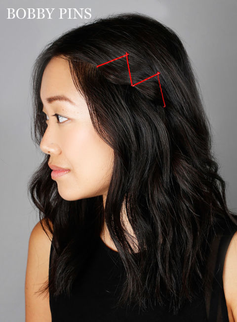 bobby pin styles for hair ideas for hairstyles with bobby pins how to use bobby pins 3043